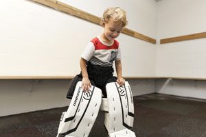 fitting hockey equipment for the first time
