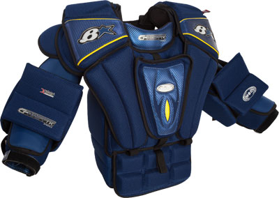 Mike Bruins' G-NETiK Pro Chest & Arm Protector Front