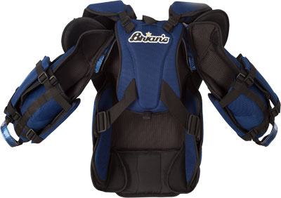 Mike Bruins' G-NETiK Pro Chest & Arm Protector Back