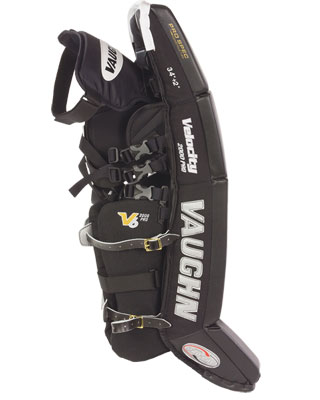 Vaughn 2000 Velocity 6 Leg Pads - Outside Edge