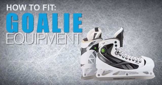 How To Fit Hockey Goalie Skates