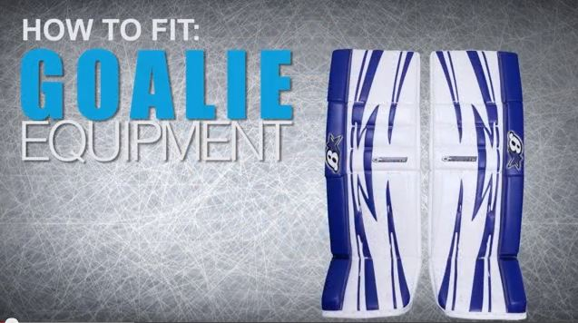 How To Fit Hockey Goalie Leg Pads
